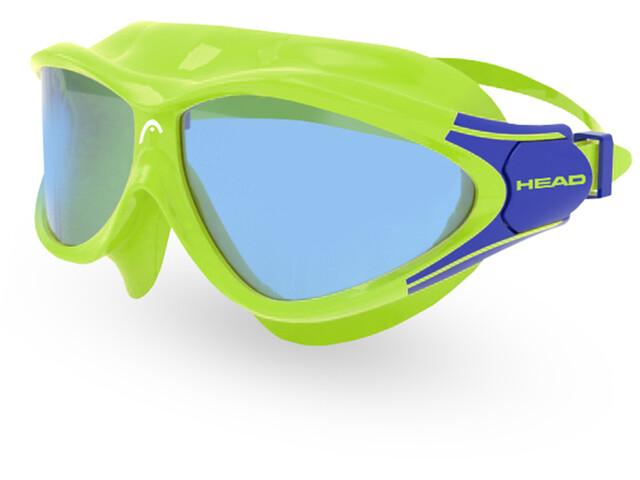 Head Rebel Goggles Kinderen, lime/blue